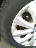 换了倍耐力轮胎,动平衡真是个手艺活。