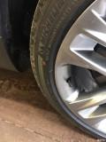 林肯MKC轮胎外壁有脱皮现象怎么处理