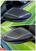 大众尚酷1.4T更换高品质碳纤维倒车镜外壳、精细保养