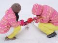 春节单车查干湖长白山玩雪