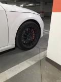 奥迪TT刹车升级改装刹车BRMEBO卡宴版大六活塞安装完成!