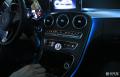 深圳奔驰C200升级原厂三色氛围灯