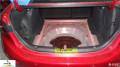 惠州马自达3汽车隔音改装――惠州茂歌汽车音响