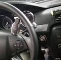 佛山奔驰R320改装一键启动无钥匙进入DTR自动巡航案例