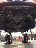 宝马7系改装BMC风格定制款钛合金阀门排气