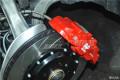 奥迪A4L改装AP8530四活塞刹车套装