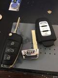 论坛首帖-Q3折叠钥匙改装智能款钥匙(原车芯片无损)