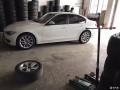 宝马3系升级18寸530轮毂轮胎完工,效果不错