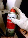 奔驰W205C200精细保养全程作业