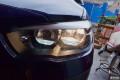 甘青宁第一辆新款宝马116升级原装全LED大灯