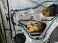 霸气的【霸道】四门隔音引擎盖隔音美国锐克DSPMBQ低音炮