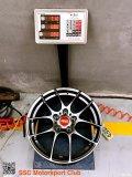 速腾GLI升级日本BBSRF505锻造轮毂