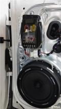 大众途观之德国艾索特喇叭相配定制--汕头悦心汽车音响改装店