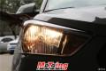 福州猫头鹰改灯现代ix25车灯升级双光透镜氙气灯案例