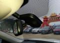 请问新科车内后视镜后面的黑盒子是干什么用的?