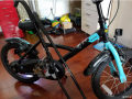 迪卡侬买的儿童自行车已出