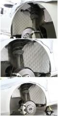 静瑟的大众高尔夫7讴赛尔轮毂隔音番禺艺匠汽车隔音改装
