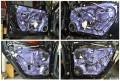 武汉大众帕萨特汽车音响改装丹麦丹拿232套装喇叭