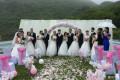 毕业季这个班15对情侣举行集体婚礼