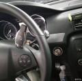 奔驰R320改装一键启动/无钥匙进入/电动尾门大改是深情