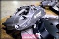 完美分享极速制动V60刹车改装Ap9660六活塞制动系统