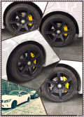 出奔驰EW212HRE轮毂一套(包轮胎)