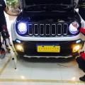 改灯为了行车安全-重庆自由侠汽车灯光升级双光透镜氙气灯恶魔眼