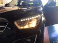 猫头鹰改灯――张掖奔腾X80低配卤素大灯升级氙气灯双光透镜