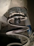 雅特更换后减震弹簧顶胶作业