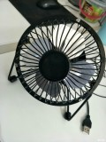 夏天来啦~小伙伴送的桌面电风扇