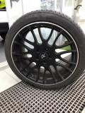 G37黑色轮毂轮胎一套