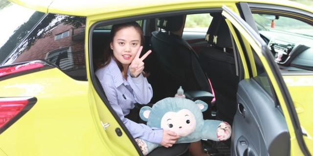 四川小美女 柠檬黄萌萌哒 提车小半年了