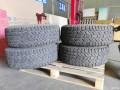 转让固铂轮胎265-70-16TUFF轮毂和无损安装备胎架