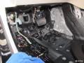 江西月福汽车音响改装奔驰C200升级德国彩虹三分频