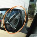 科雷嘉贴膜后左反光镜和前挡玻璃反光怎么破?