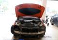 广州炫酷改灯宝马3系320车灯改装海拉5氙气灯双光透镜
