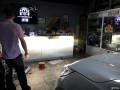 深圳汽车大灯改装透镜南山改车卤素灯装氙气灯本田CRV改灯