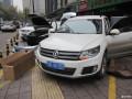 西安鑫朗汽车原厂增配改装大众途观加装中央扶手箱