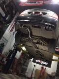 【改装案例】宝马330改装RES中尾段可变阀门排气
