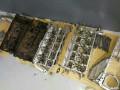 宝马E60545i8缸发动机大修烧机油冷却液泄露修复记