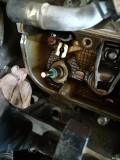 老君威油管漏油了。