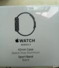 全新未开封applewatch2黑色42mm