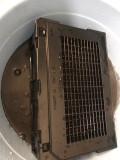 今天把空气净化器滤芯儿洗了
