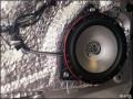 头悦心汽车音响改装尼桑NV200升级德国海螺+魔立方喇叭