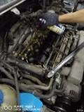 08款途安发动机气门室盖垫和平面轴承更换