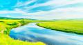 行摄之旅17年结伴内蒙呼伦贝尔大草原--蓝天白云天高地阔