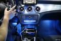 深圳奔驰CLA改装12色氛围灯和LED蝴蝶尾灯