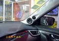 武汉日产奇骏汽车音响改装升级之德国艾索特三分频音响改装