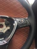 出大众汽车多功能方向盘