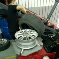 为4年多的爱车更换轮胎